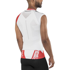 Compressport Trail Running V2 Tank Men White